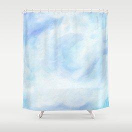 Warm Fall Days - Tropical Ocean Seascape Shower Curtain