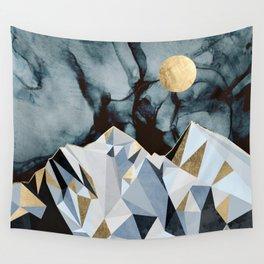 Midnight Peaks Wall Tapestry
