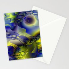 Warped sky Stationery Cards