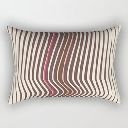 OpArt WaveLines 3 Rectangular Pillow