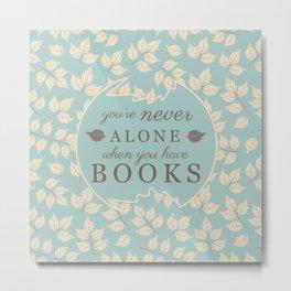 Book Lovers Metal Print