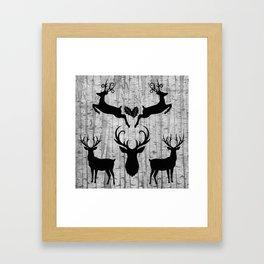 Birch Tree Forest Framed Art Print