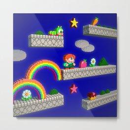 Inside Rainbow Islands Metal Print