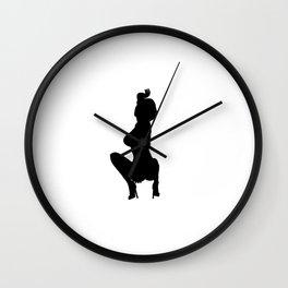 Professional Dancer Drop in Black Wall Clock