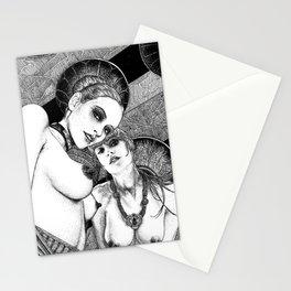asc 670 - Les gardiennes de la nuit (Come with us) Stationery Cards