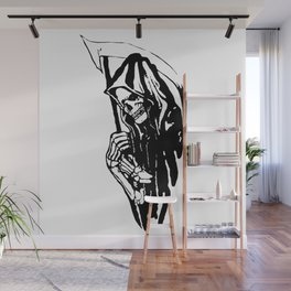 THE GRIM REAPER MR DEATH Wall Mural