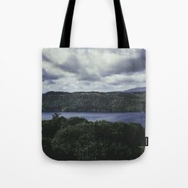 Moody Lake Windermere - Landscape and Nature Photography Tote Bag