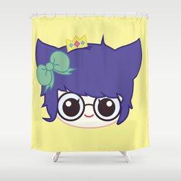 SUCHPLUSHSEWWOW CHIBI #2 Shower Curtain