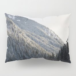 Powdered Trees Pillow Sham