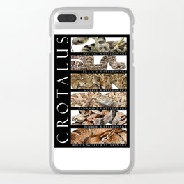Rattlesnakes - Crotalus Clear iPhone Case