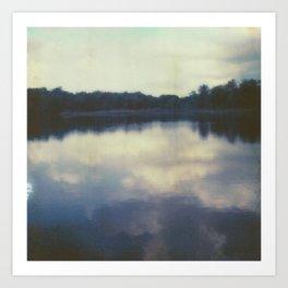 buttermilk lake II Art Print