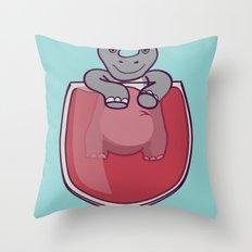 Whino Throw Pillow