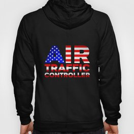 Air Traffic Controller USA Flag ATC Flight Control product Hoody