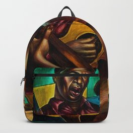 African-American 1951 Classical Masterpiece 'Gospel Singers' by Charles White Backpack