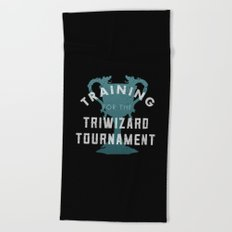 Training: Triwizard  Cup Beach Towel