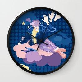 Drunken Heaven Wall Clock
