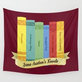 The Jane Austen's Novels IV Wall Tapestry