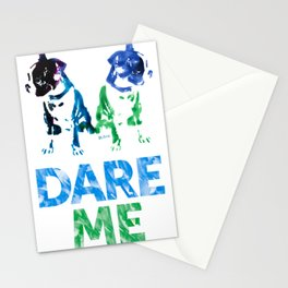Double Dog Dare Me Stationery Cards