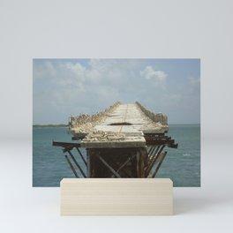 Bridge to Nowhere (Florida Keys) Mini Art Print