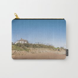 Sandy beach in Ireland Carry-All Pouch