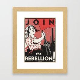 Join The Rebellion! Framed Art Print