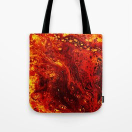 Torched Tote Bag