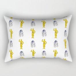 R2D2 & C3PO Pattern Rectangular Pillow