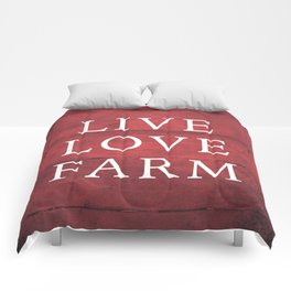 LIVE LOVE FARM Comforters