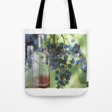 niagara wine country / grapes  / digital painting Tote Bag