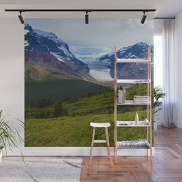View along the Wilcox Pass Hike in Jasper National Park, Canada Wall Mural
