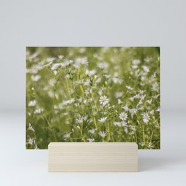 Summer meadow flowers Mini Art Print