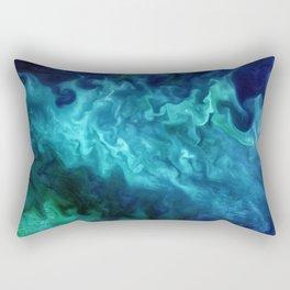 The Art of Nature - Churning in the Chukchi Sea Rectangular Pillow
