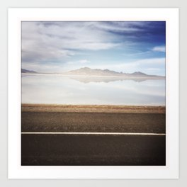 ROAD TRIP I Art Print
