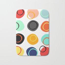 Color Drop Bath Mat