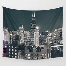 Chicago | Project L0̷SS   Wall Tapestry