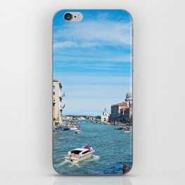 View from the bridge in Venice iPhone Skin
