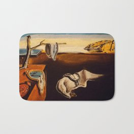 Salvador Dali - The Persistence of Memory Bath Mat