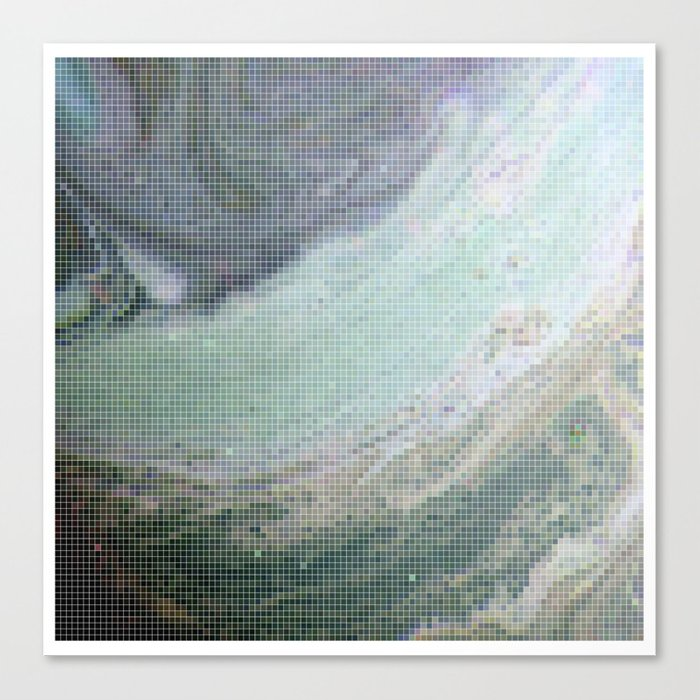 Saturn Infrared Canvas Print