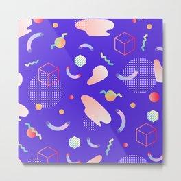 Geometric world Metal Print