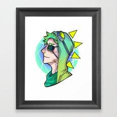 I'm a dinosaur Framed Art Print