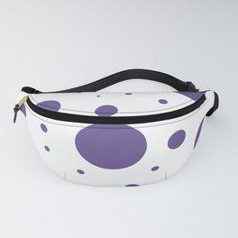 Ultra Violet Bubbles Fanny Pack