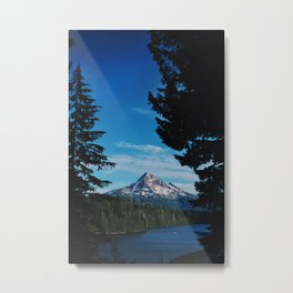 Lost Lake; Mt. Hood Metal Print