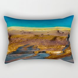 Earth in Full Color Rectangular Pillow