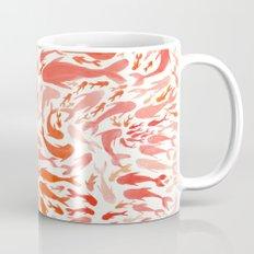 Koi - Coral & White Mug