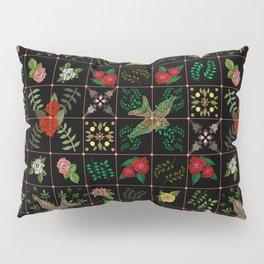 Swallows in a Spanish Rose Garden Pillow Sham
