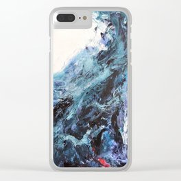 The First Wave Clear iPhone Case