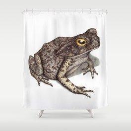 Toad by Lars Furtwaengler   Ink Pen   2012 Shower Curtain