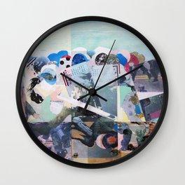 Man Down Wall Clock