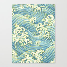 Wave Pattern Canvas Print