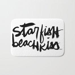 Starfish Beachkiss Bath Mat
